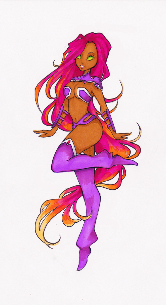 Starfire by Nina-D-Lux