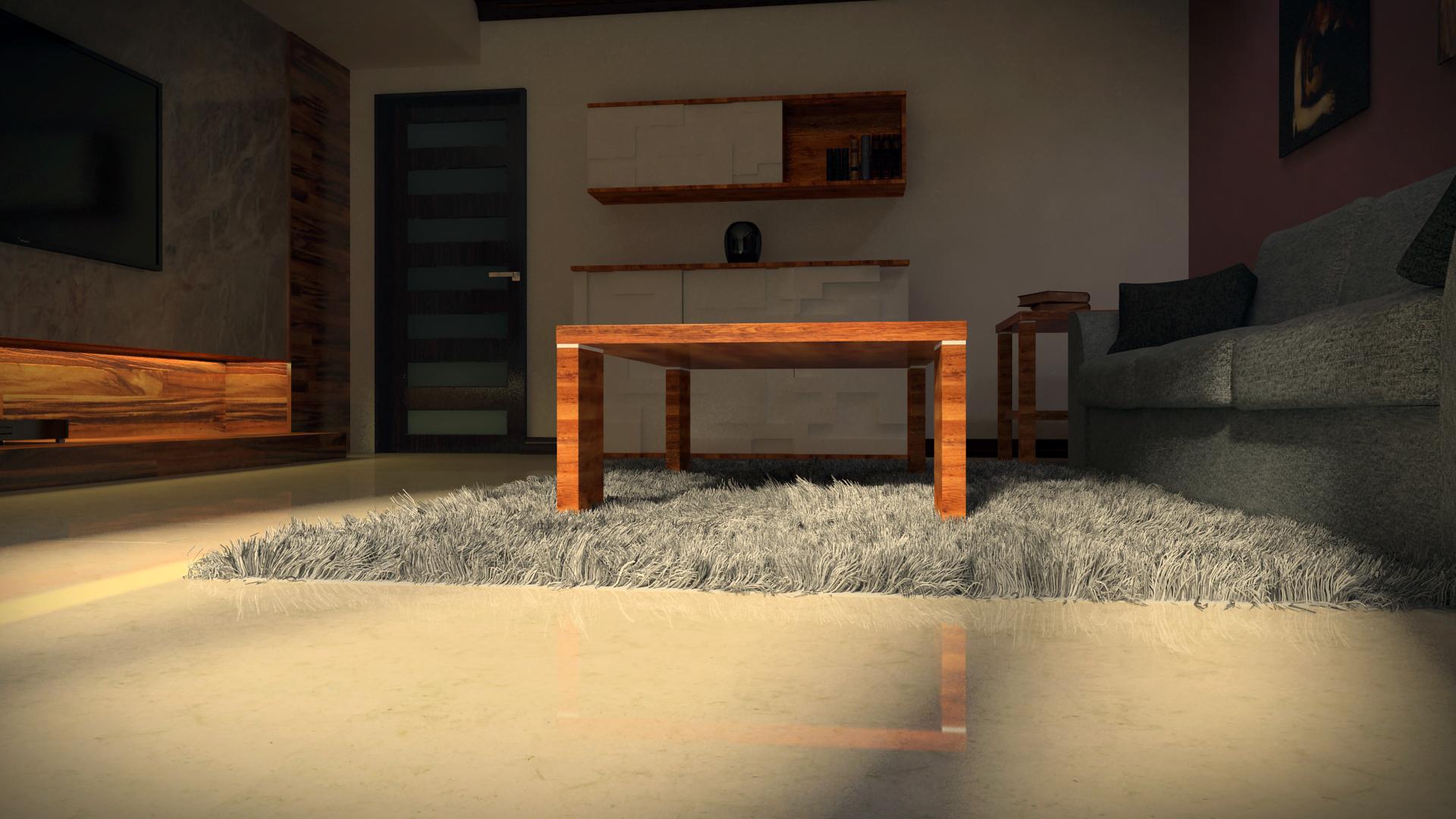 Modern living room 6 by marantir art on deviantart for Modern living room reddit