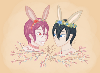 A Flowery Easter by ElenaOfTime