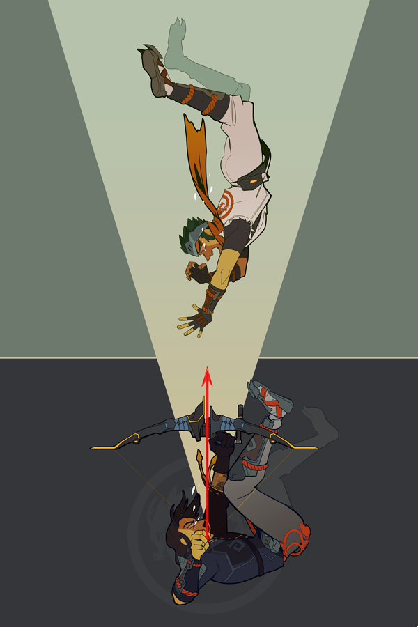 I KNOW THAT HANZO KILLED GENJI WITH A SWORD by an-jing