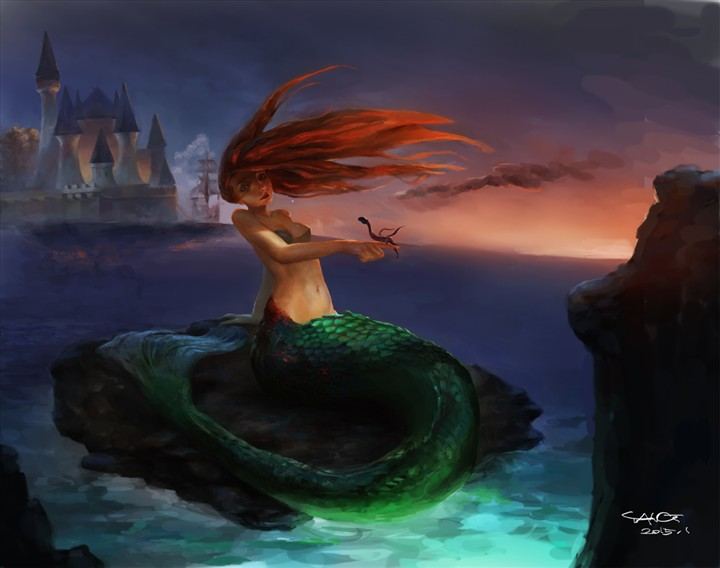 mermaid by gleworld