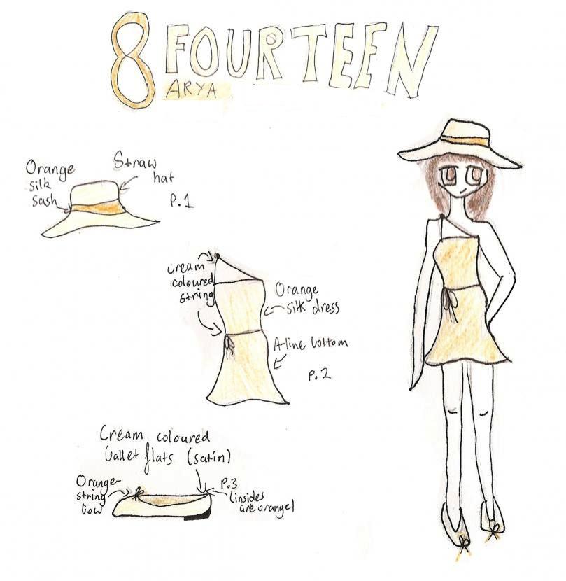 8Fourteen Fashion Design by msteetertotter