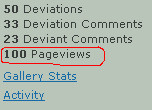100 Page Views by tmgivler
