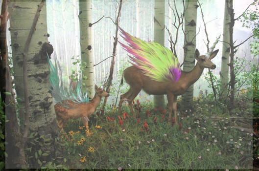 { Flying Deers? }