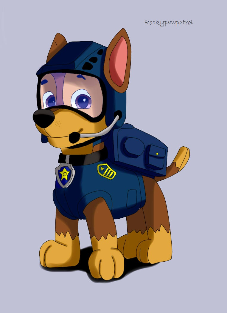 Paw Patrol F B I Chase By DannyEdCoyote