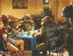 Judith Hoag and Robbie Rist Autograph