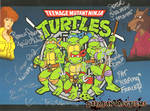 Teenage Mutant Ninja Turtles 1987 Autographs