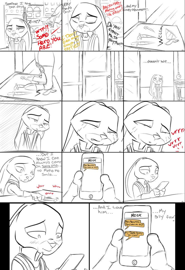 Comic: My Sly Fox (by xxXSketchBookXxx)