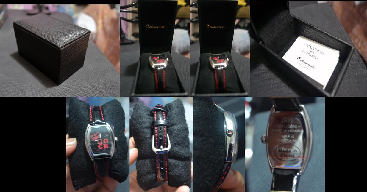 Phantasmagoria - Visual Kei - RARE Wrist Watch by xxXSketchBookXxx