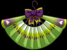 Kiwi fan ornament by CamiPawz