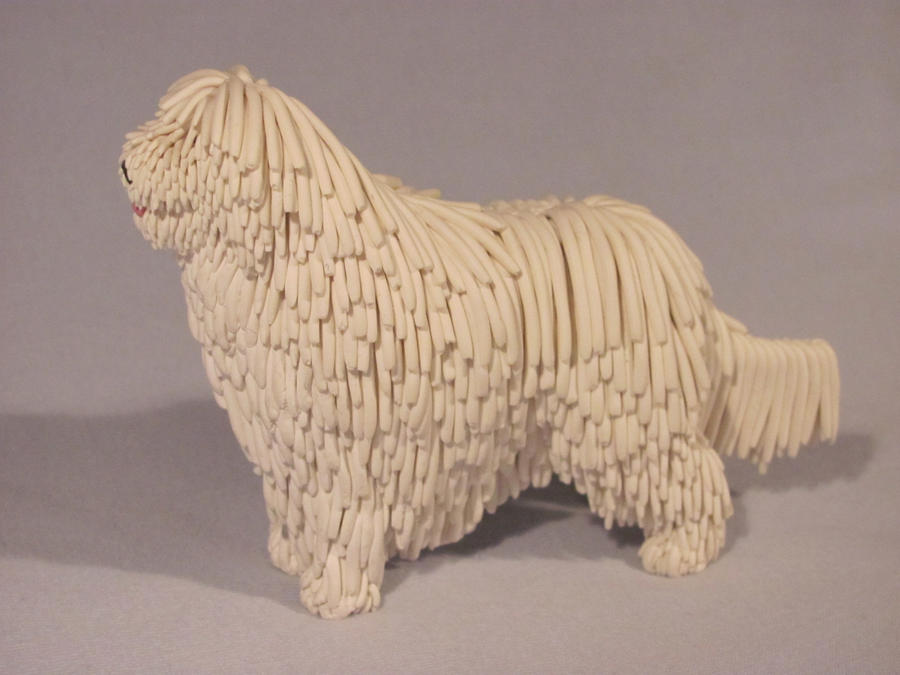 Clay Komondor: view 1 by Avocet21