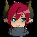 Sad Demon tears~