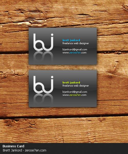 ZEROSE7EN Business Card by Solaris07