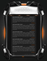 Web Interface - 3D Style by Solaris07