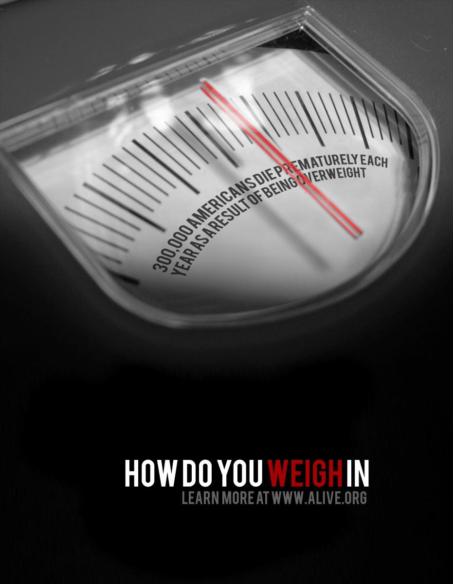 Obesity Awareness Poster
