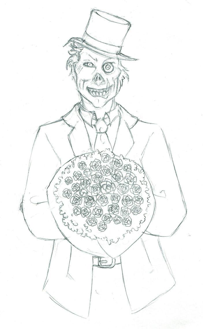 Romantic Zombie by krios82