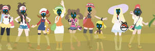 Pokemon Girls in the Smelly Gas Chamber by safetymaskfan123