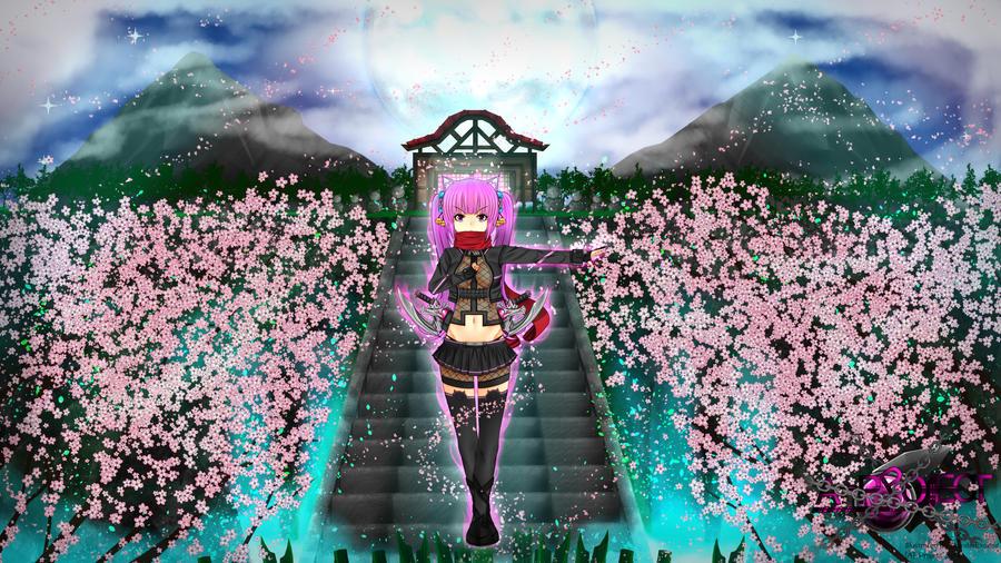 Sakura-Sacreed Beast-Ninja-Assassin-Exceed-Stender by StenderExceed