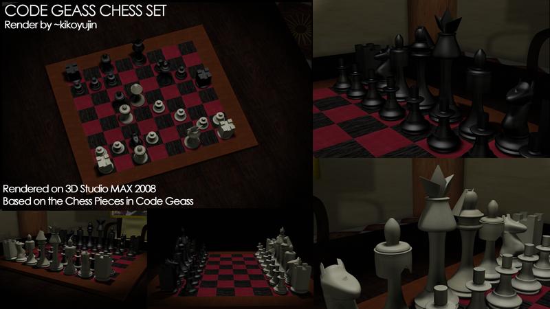 Code Geass Chess Set by kikoyujin