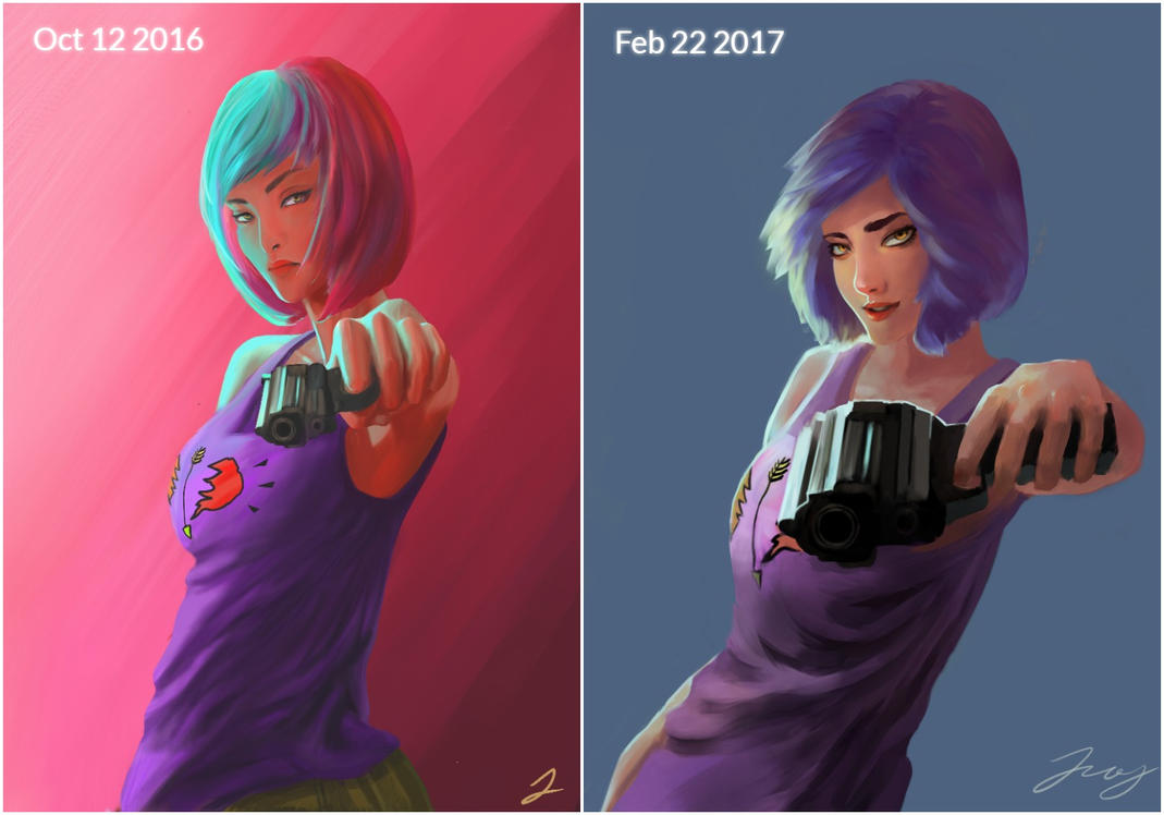 Art progress by jennjang