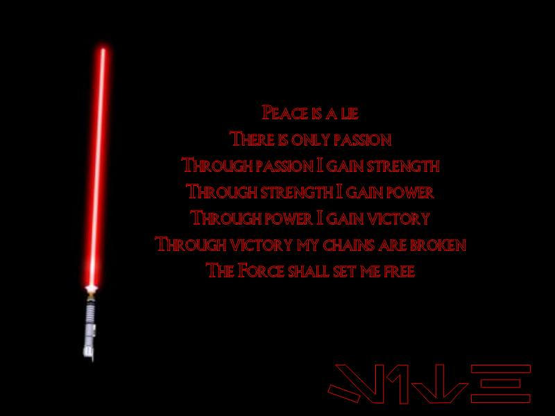 Sith Code by Starflare1984