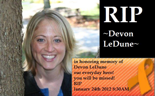 in memory of Devon LeDune by hollyhegi4366