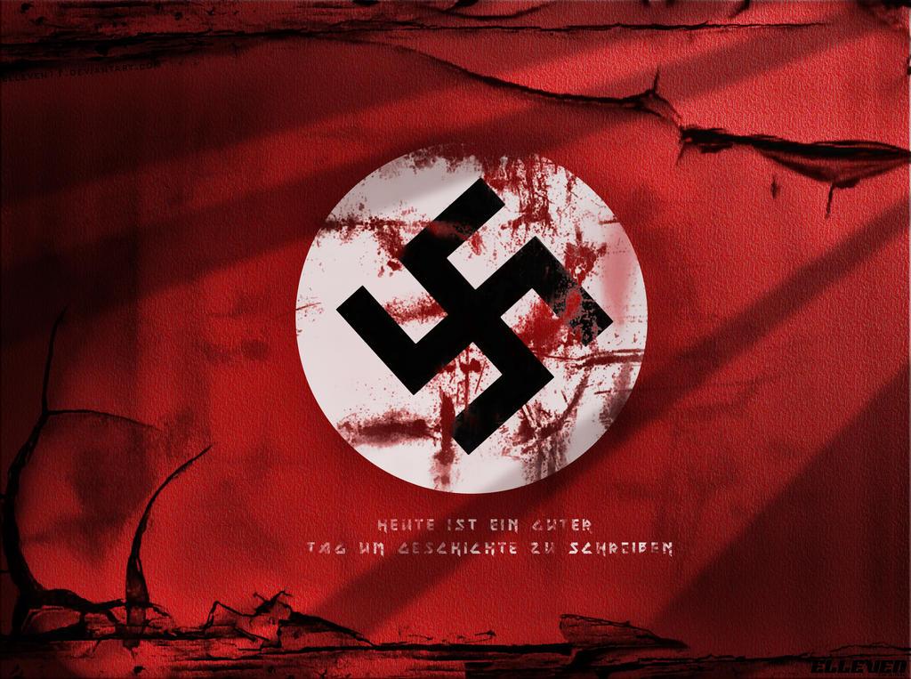 Nazi german wallpaper by themistrunsred on deviantart realistic grunge wall of nazi wallpaper by elleven11 altavistaventures Image collections