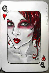 Queen of Hearts by EdhelMoth