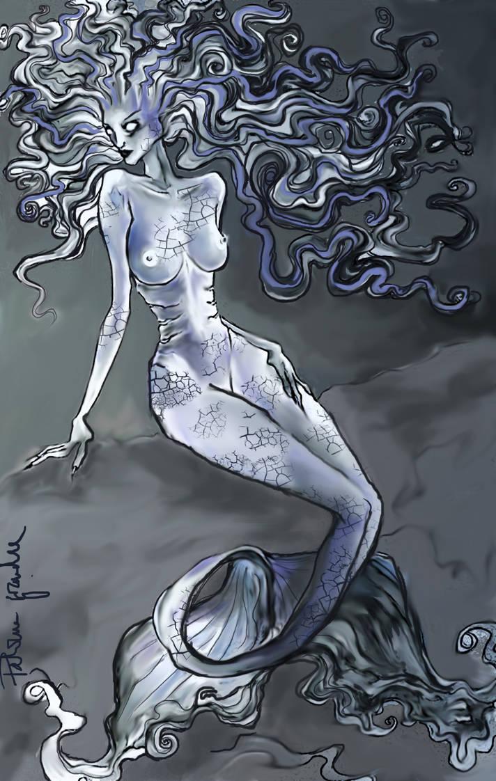 Abyss Sumpall - mermaid by EdhelMoth