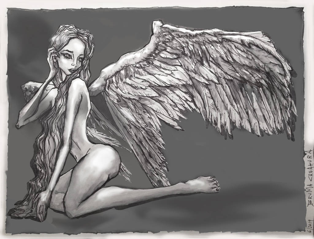 Angel by EdhelMoth