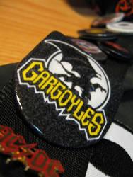 Gargoyles pin by emo-shinigami