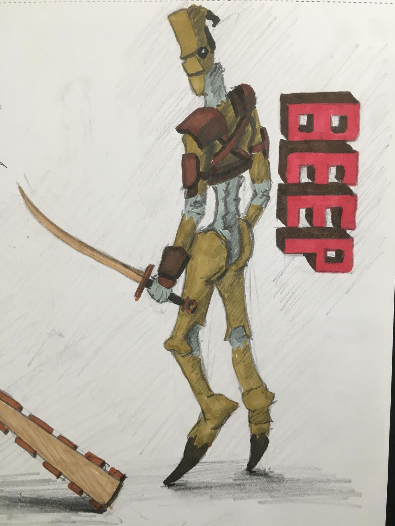 Kenshi: Beep fan art by Donfeud on DeviantArt