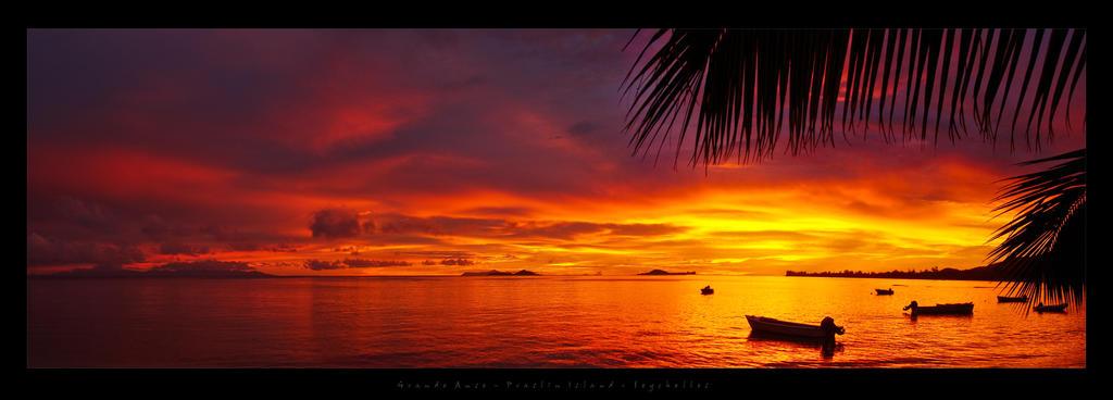 Praslin Sunset II Seychelles by etdjt