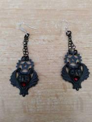 vampire bats by CreativeChaotica