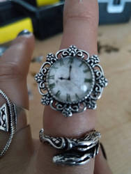 clock ring by CreativeChaotica