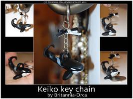 Keiko key chain by Britannia-Orca
