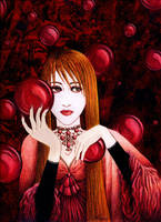 Blood Red Visions by Ahness