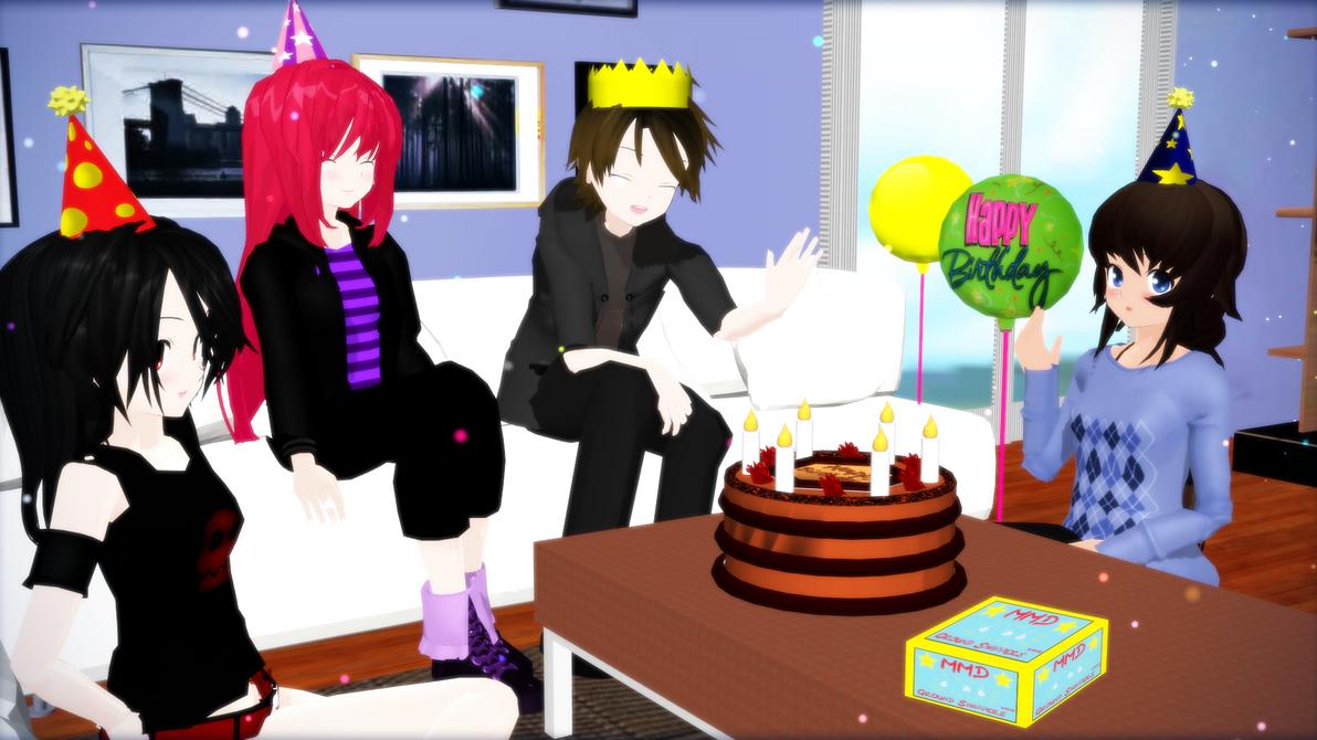 HAPPY BIRTHDAY JUMO by RedHoozuki