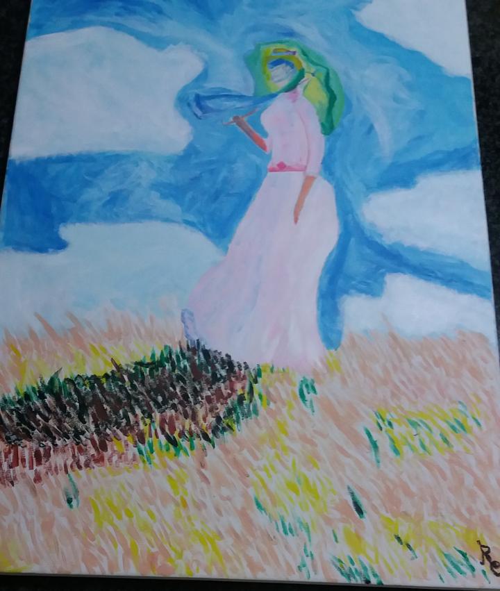 Monet : donna con parasole by Pulc1n3ll4