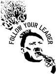 follow your leader stencil