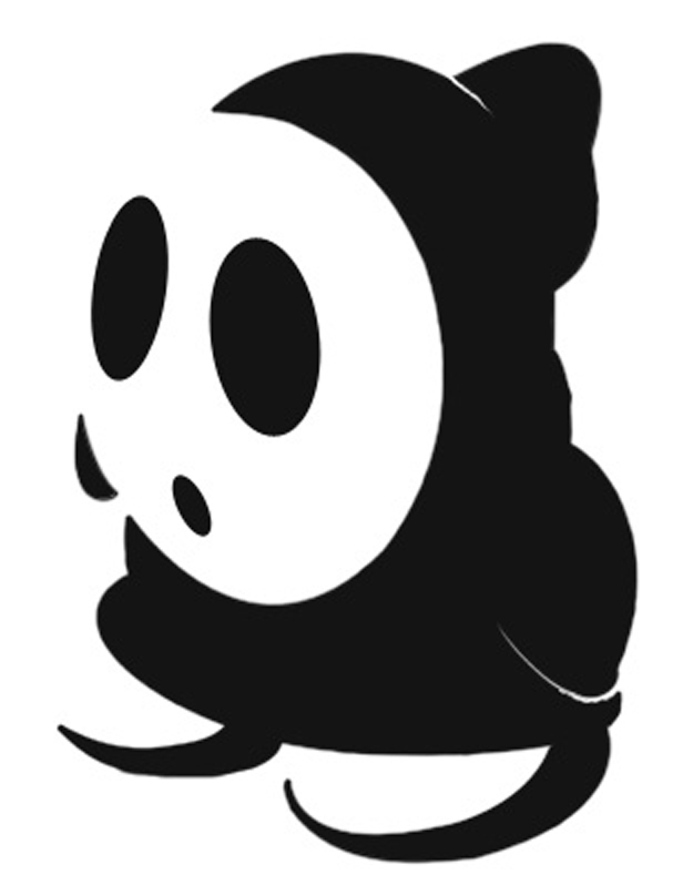 Shy Guy Stencil by killingspr Koopa Stencil