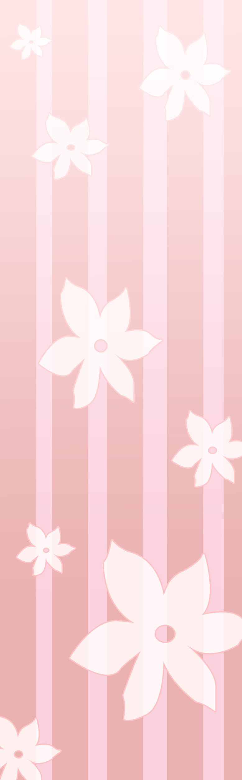 Pink Flower Custom Background by Mochi-Bunnie