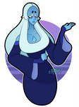[FanArt] Blue Diamond by MikeVxV