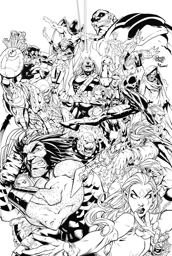 Age of Apocalypse  by Roger Cruz by RodTsumura