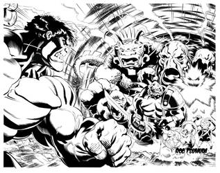 ED Mcguiness Inks by Rod Tsumura by RodTsumura