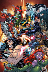 Age Of Apocalypse by Roger Cruz  Rod  and  Alonso by RodTsumura