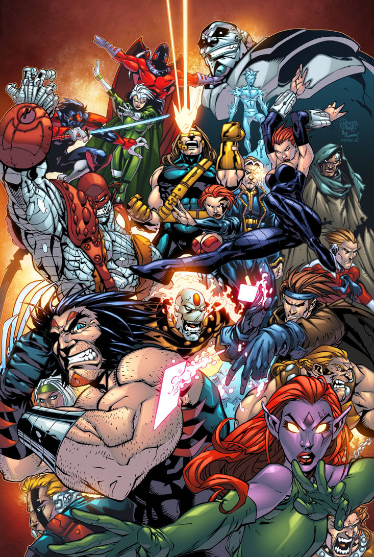 Age Of Apocalypse by Roger Cruz  Rod  and  Alonso