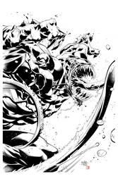 Venom by Roger Cruz  by RodTsumura