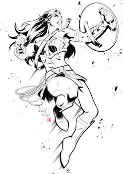 Wonder Woman by Chahine