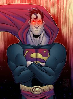 Superman Homage Dark Version